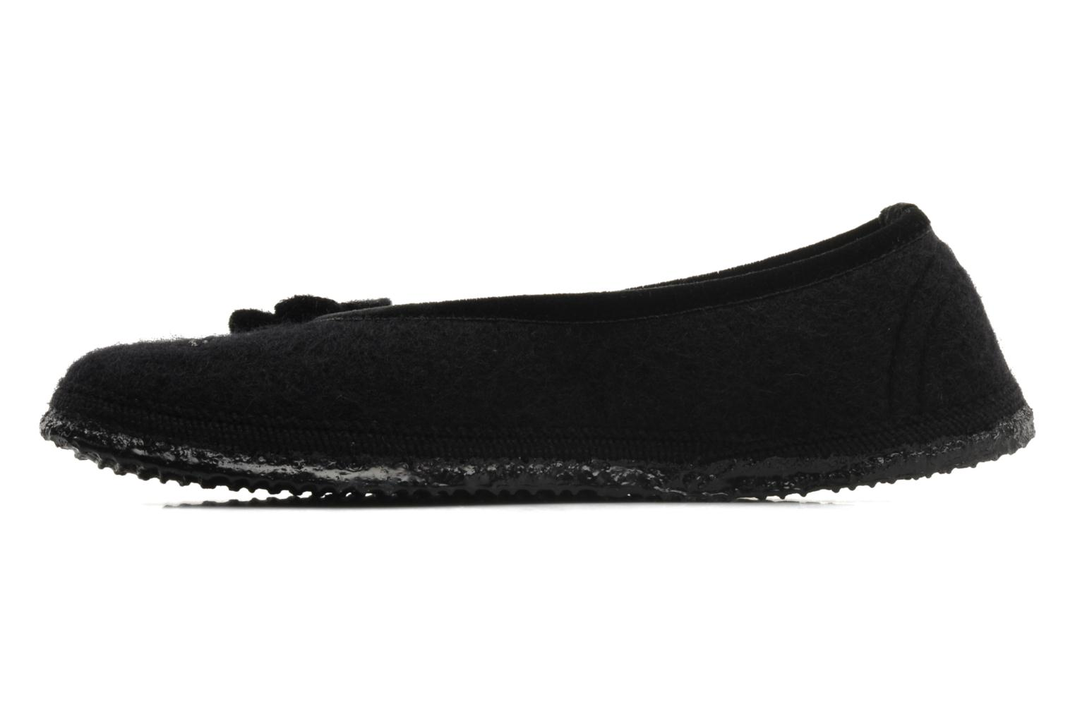 Slippers Giesswein Lech Black front view