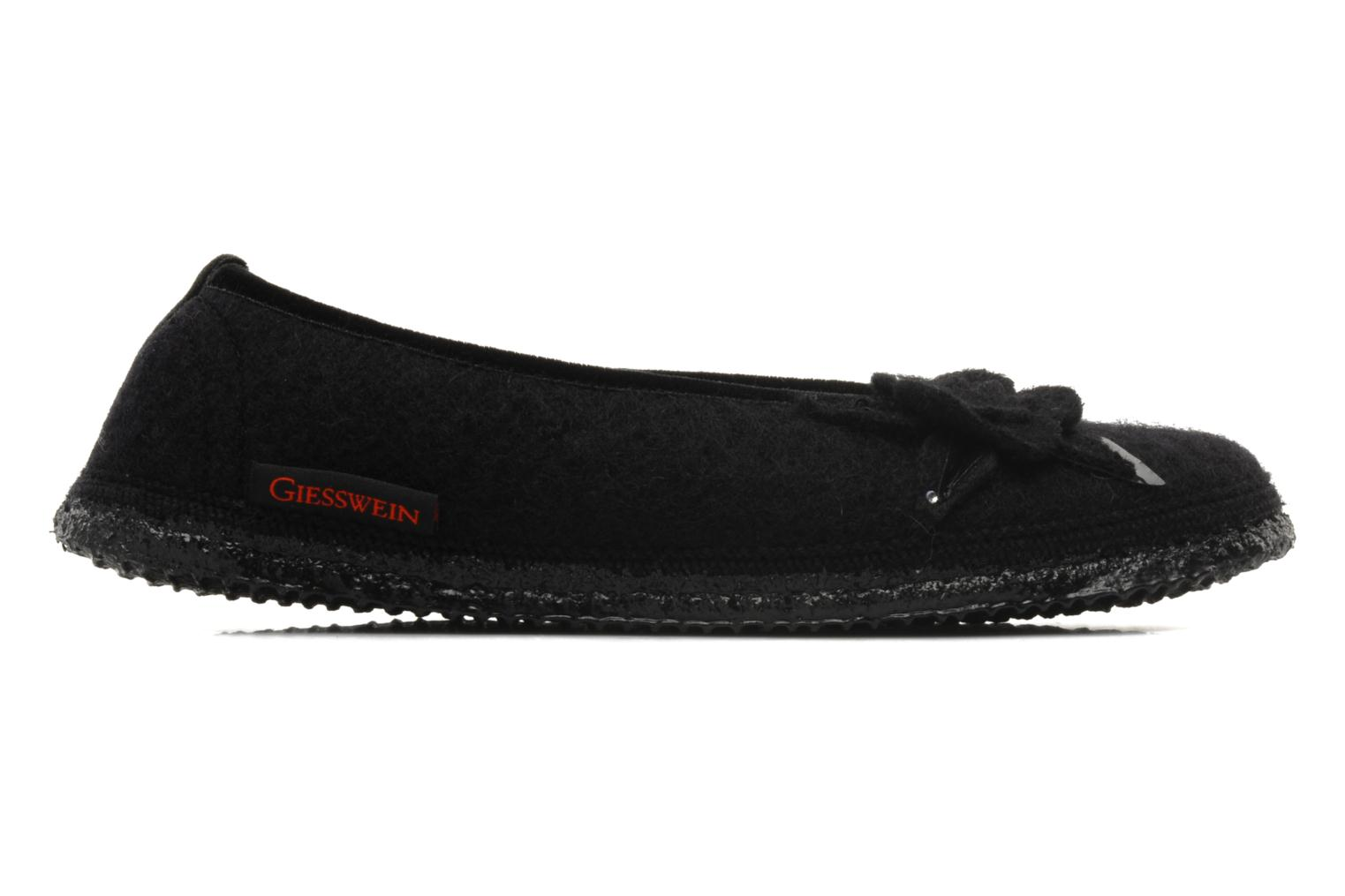 Slippers Giesswein Lech Black back view