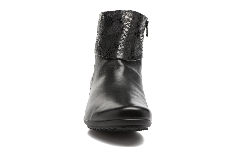 Bottines et boots Mephisto Fiducia Noir vue portées chaussures