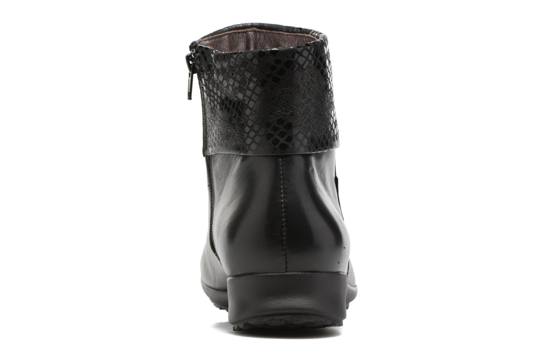 Bottines et boots Mephisto Fiducia Noir vue droite