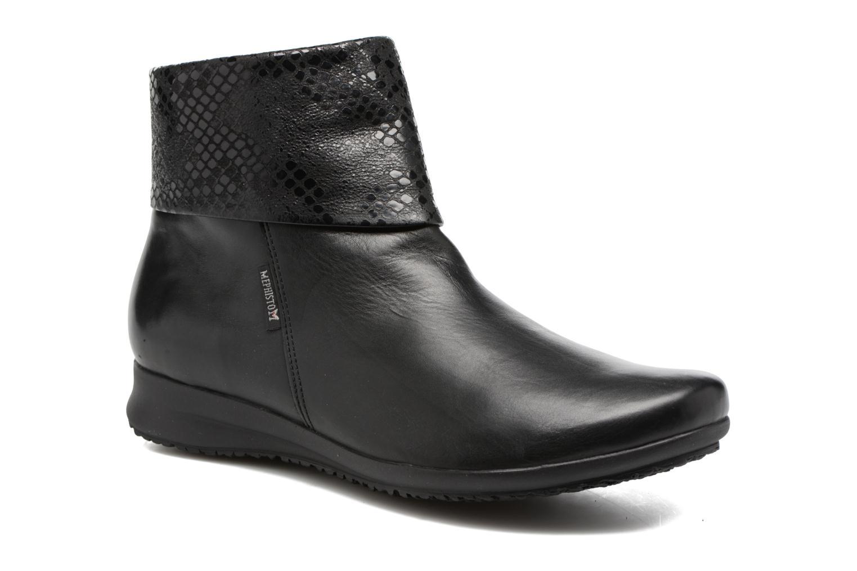 Bottines et boots Mephisto Fiducia Noir vue détail/paire