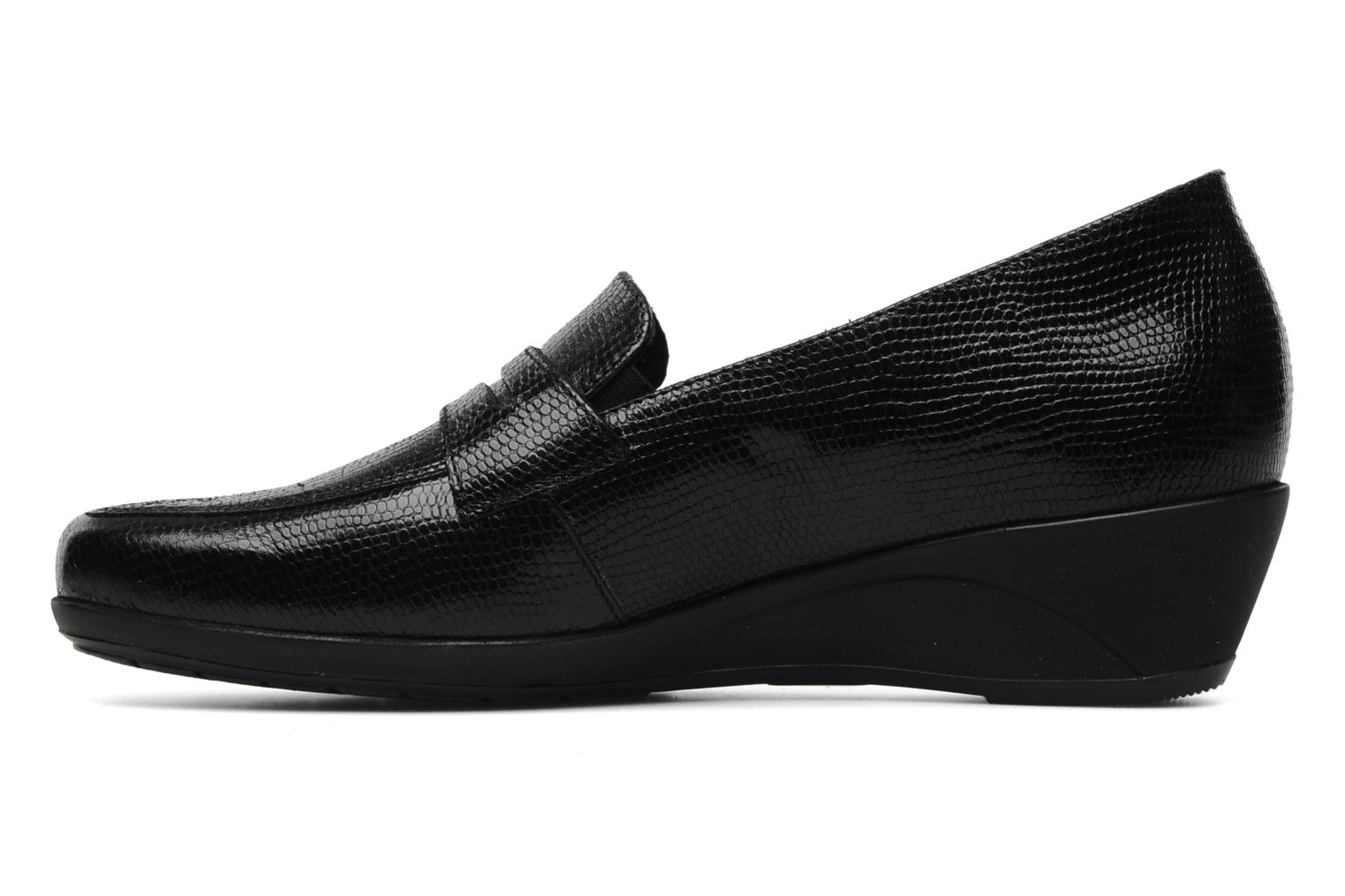 Loafers Mephisto Kinga Black front view