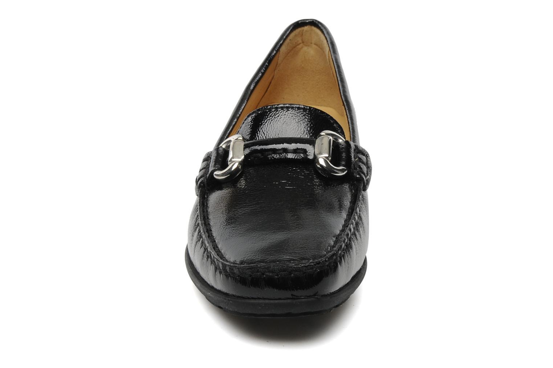 Mocassins Mephisto Natala Noir vue portées chaussures
