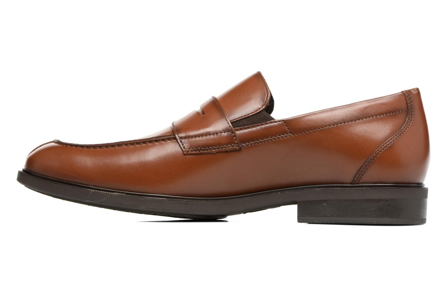 Loafers Mephisto Fortino Brown front view