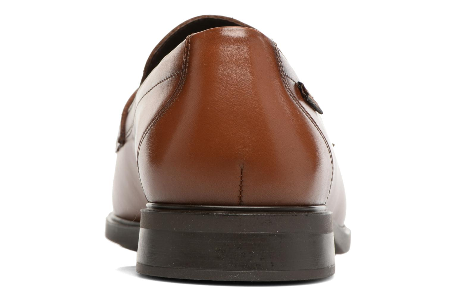 Loafers Mephisto Fortino Brown view from the right