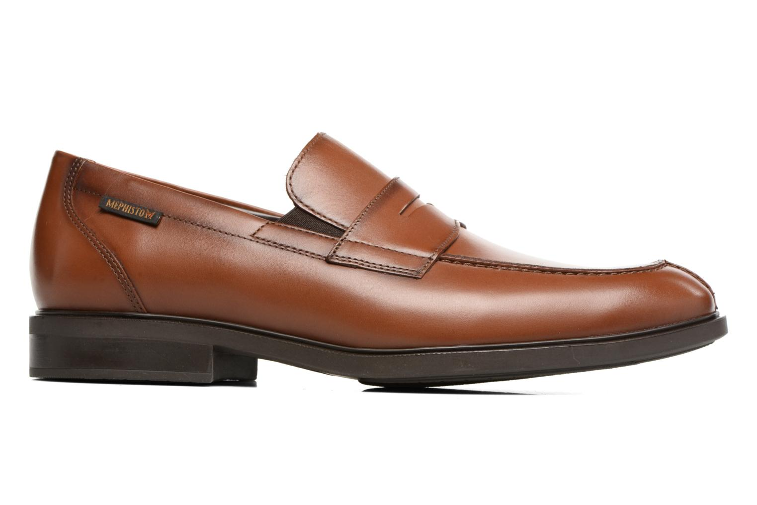 Loafers Mephisto Fortino Brown back view