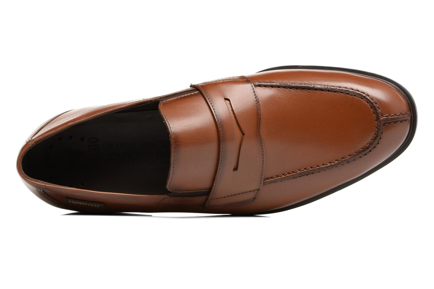 Loafers Mephisto Fortino Brown view from the left