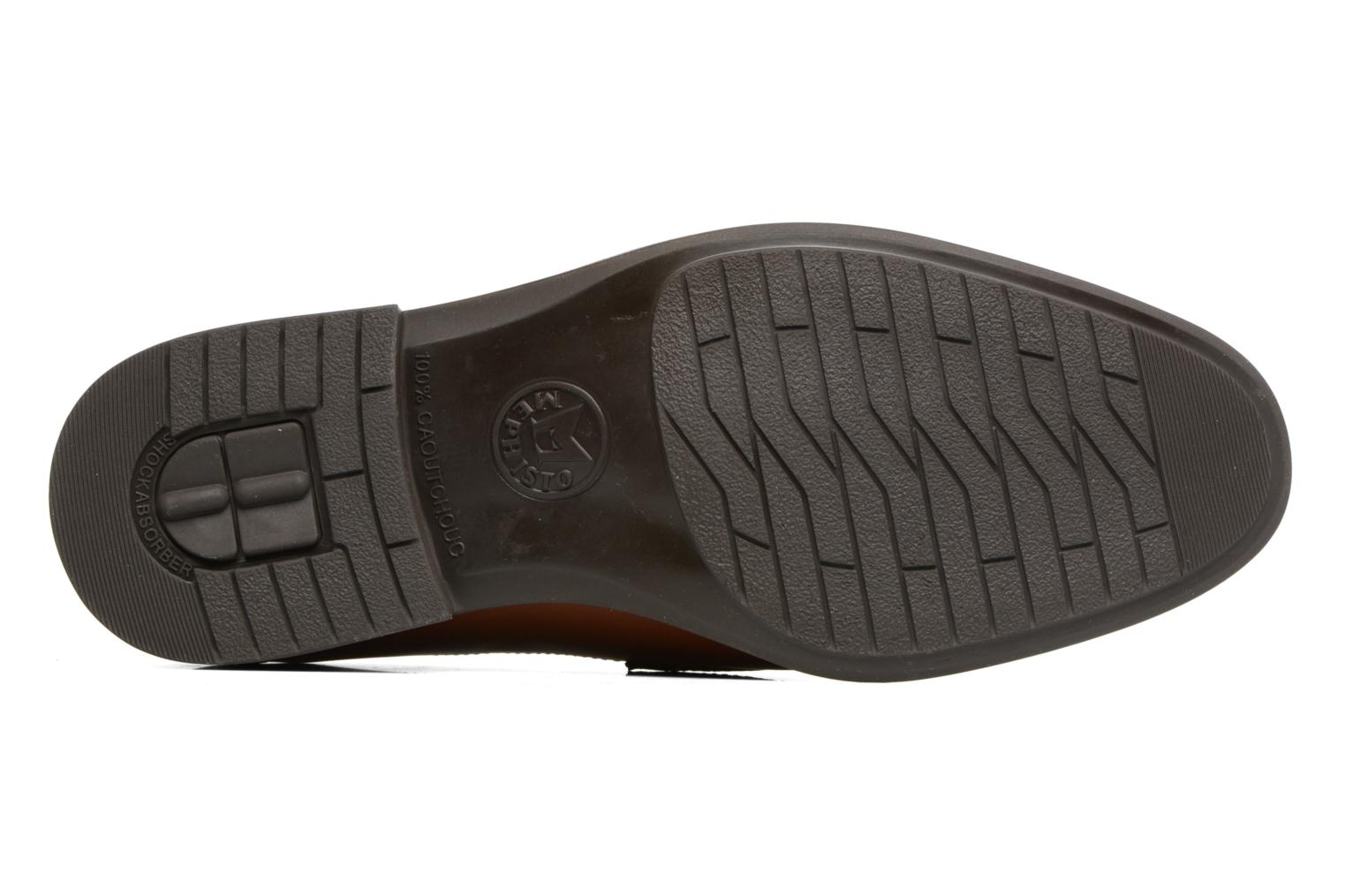 Loafers Mephisto Fortino Brown view from above