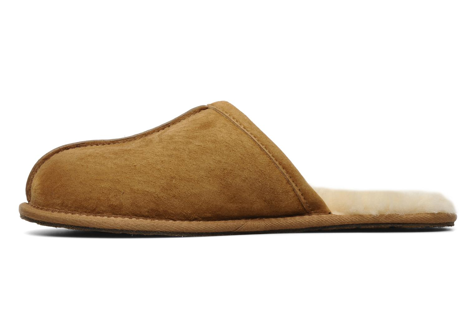 Slippers UGG Scuff Brown front view