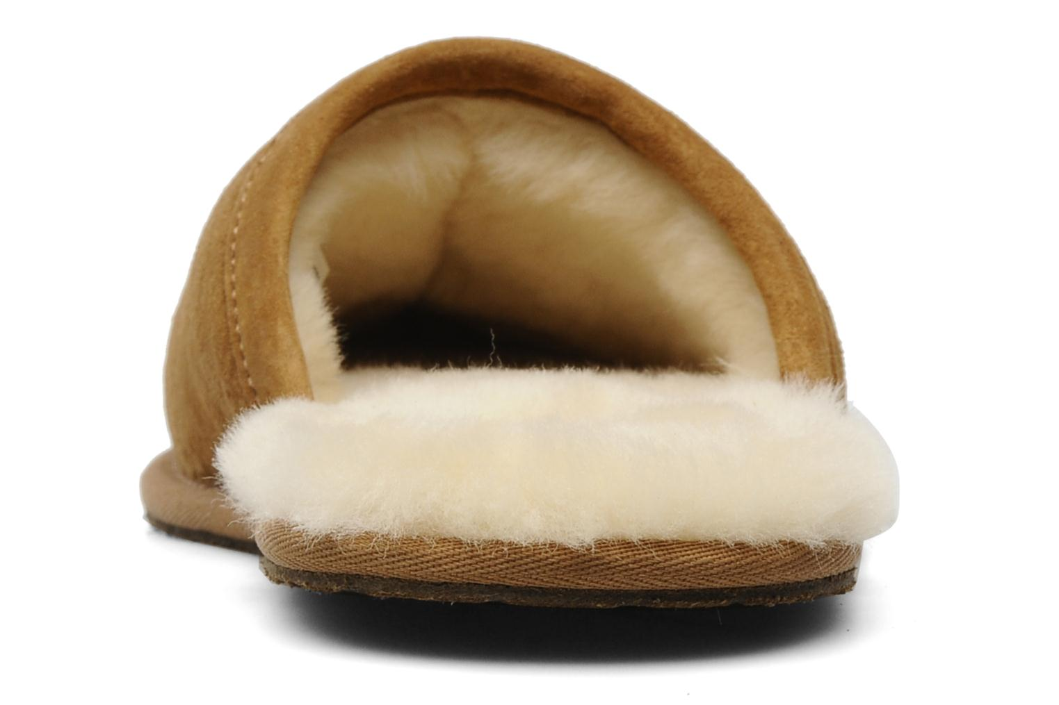 Slippers UGG Scuff Brown view from the right