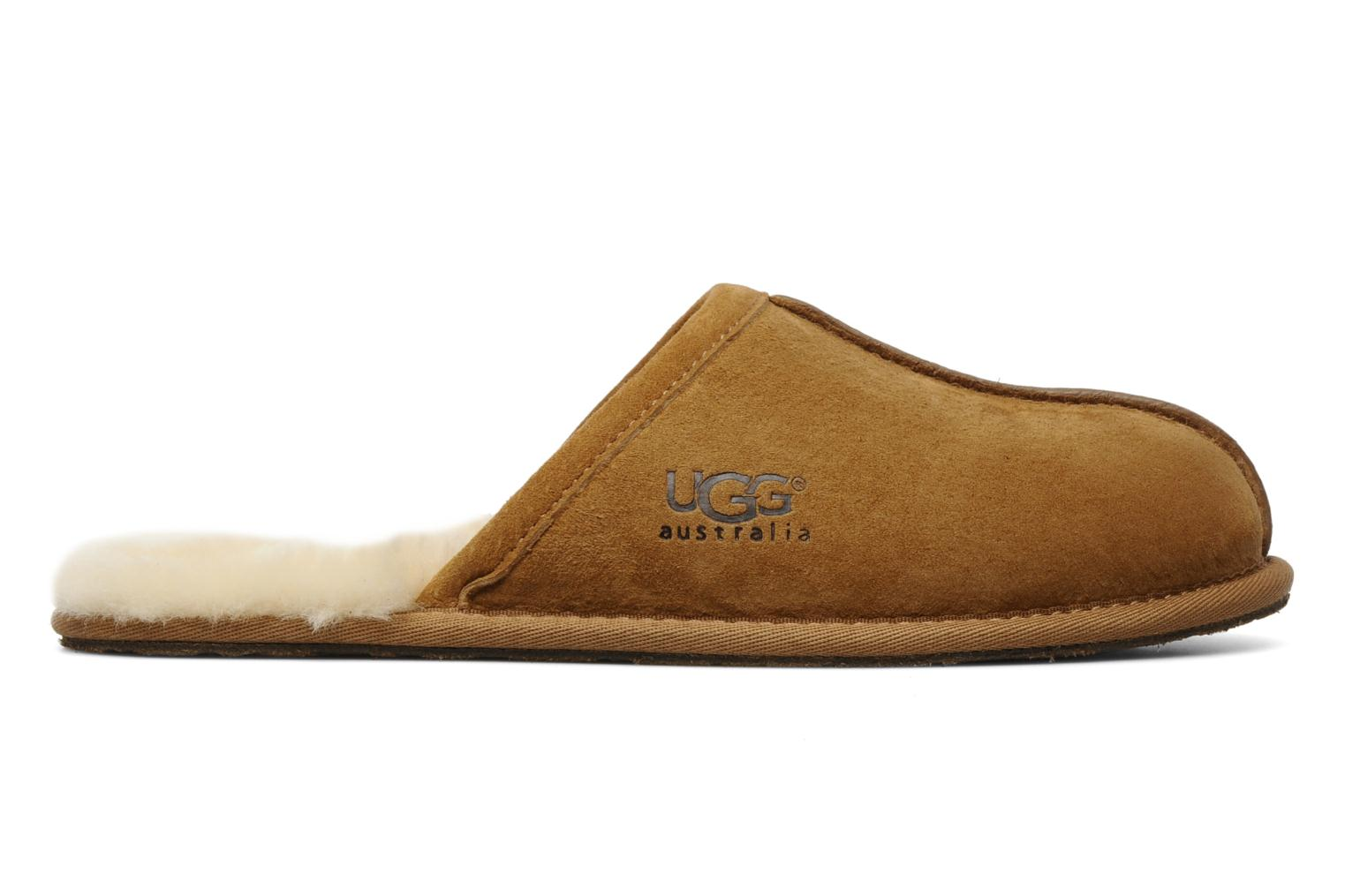 Slippers UGG Scuff Brown back view