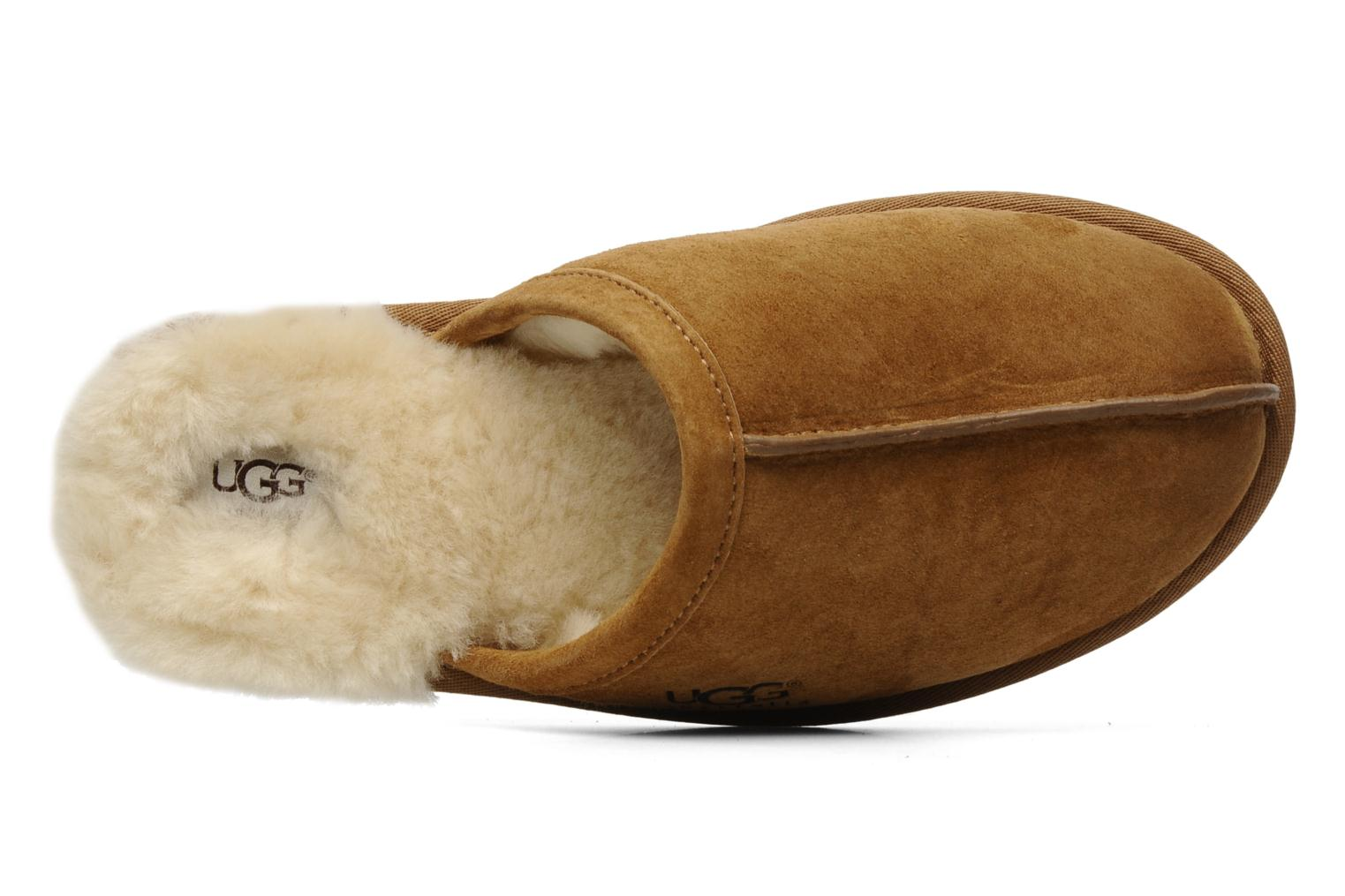 Slippers UGG Scuff Brown view from the left