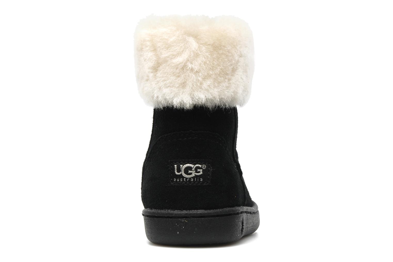 Bottines et boots UGG Jorie II K Noir vue droite