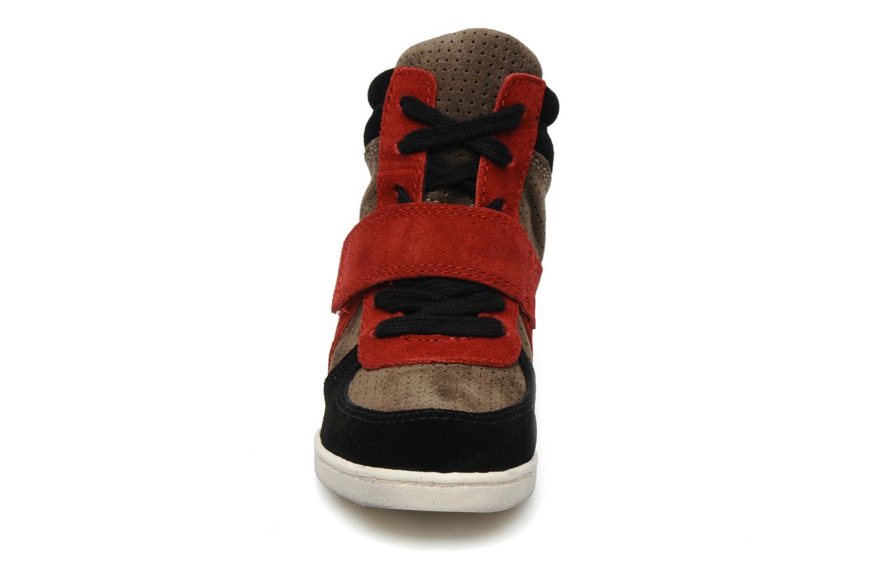 Baskets Ash babe multi Multicolore vue portées chaussures