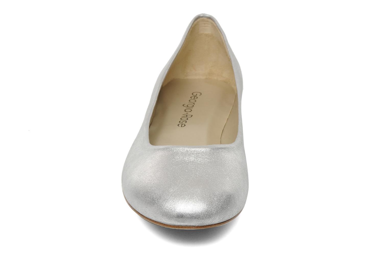 Ballerines Georgia Rose Sabrina CFT Argent vue portées chaussures