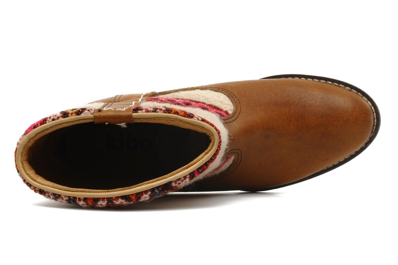 Stiefeletten & Boots Kiboots Inez braun ansicht von links