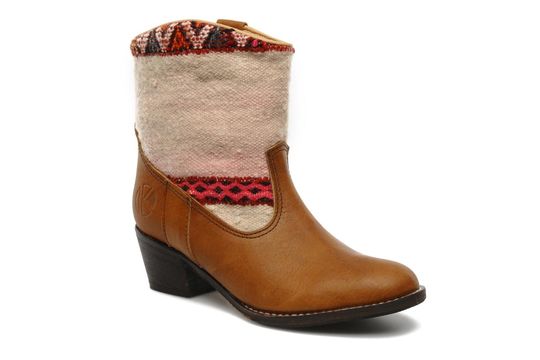 Stiefeletten & Boots Kiboots Inez braun detaillierte ansicht/modell