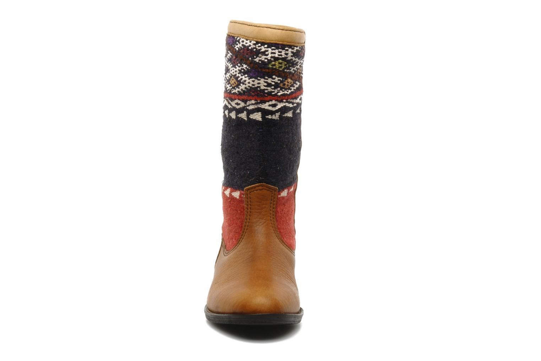 Bottines et boots Kiboots Lee Ann Marron vue portées chaussures
