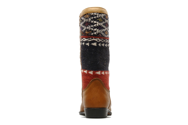 Bottines et boots Kiboots Lee Ann Marron vue droite