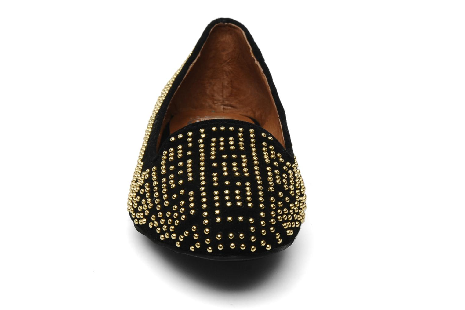 Loafers Jeffrey Campbell Tron Black model view