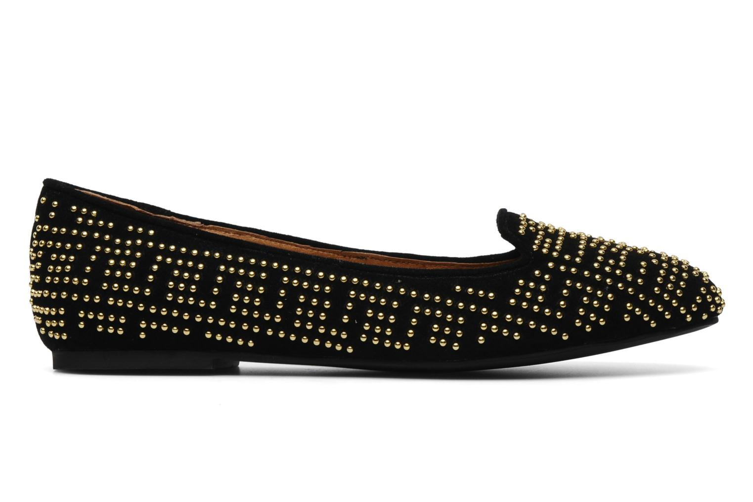 Loafers Jeffrey Campbell Tron Black back view
