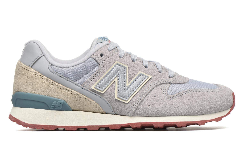 Sneaker New Balance WR996 grau ansicht von hinten