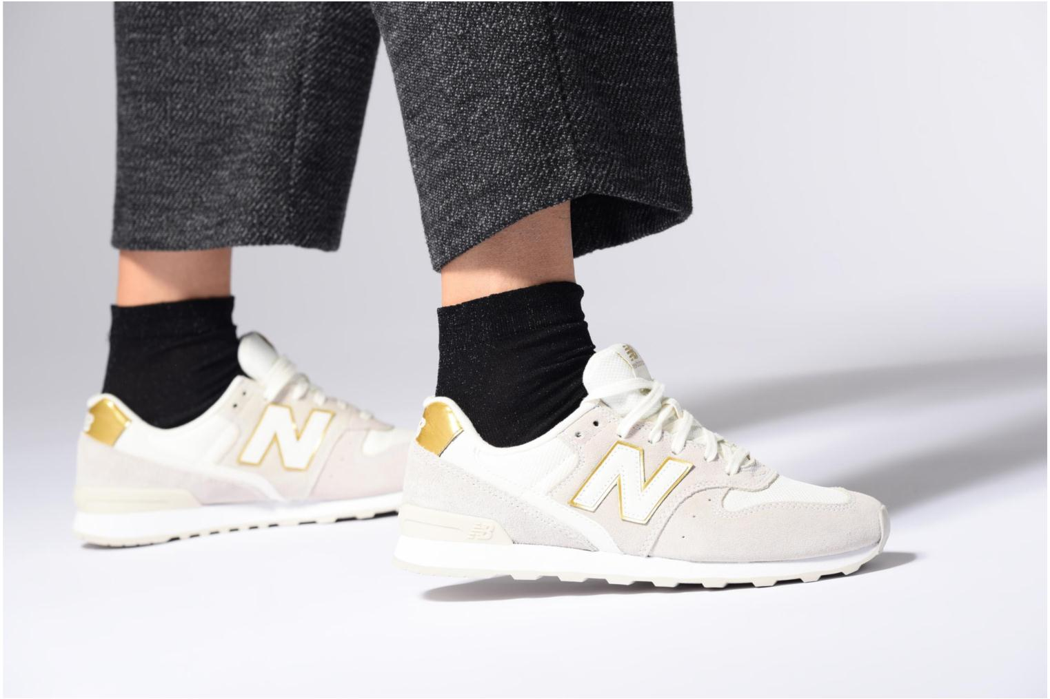Trainers New Balance WR996 Pink view from underneath / model view