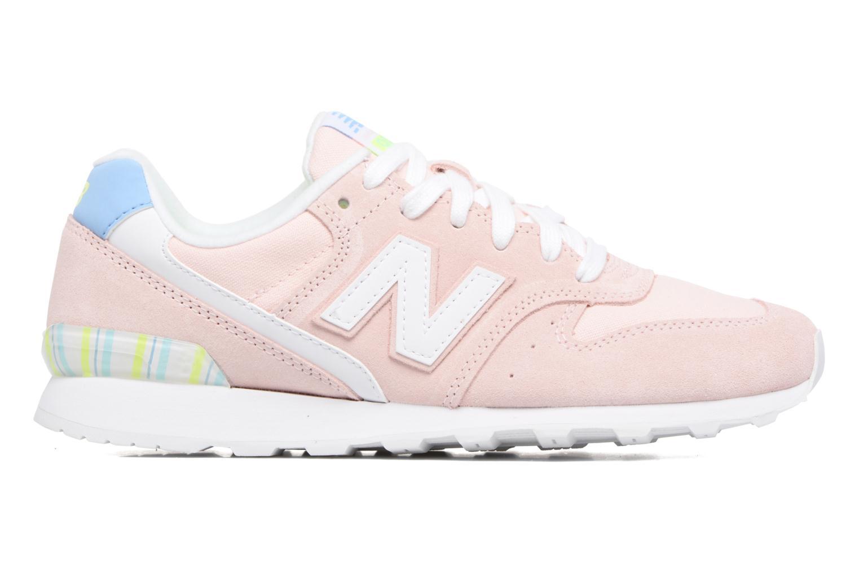 Sneaker New Balance WR996 rosa ansicht von hinten