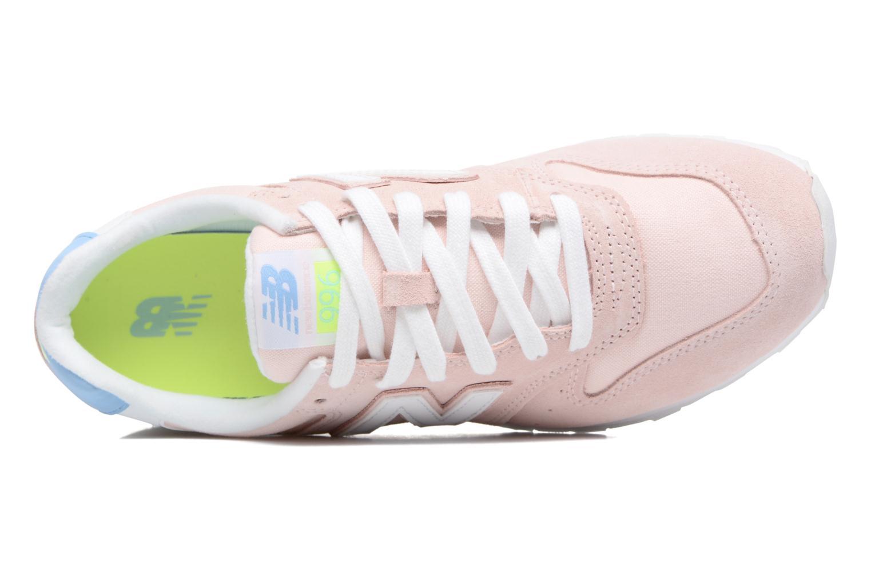 Sneaker New Balance WR996 rosa ansicht von links