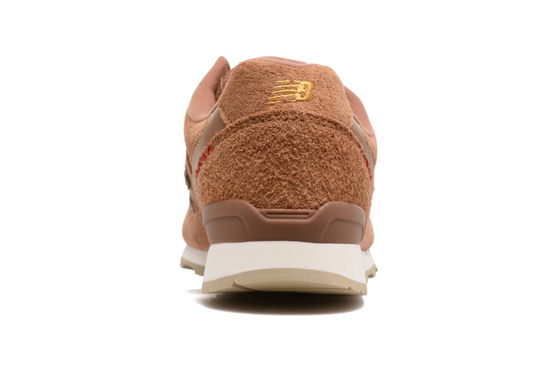 Sneaker New Balance WR996 beige ansicht von rechts