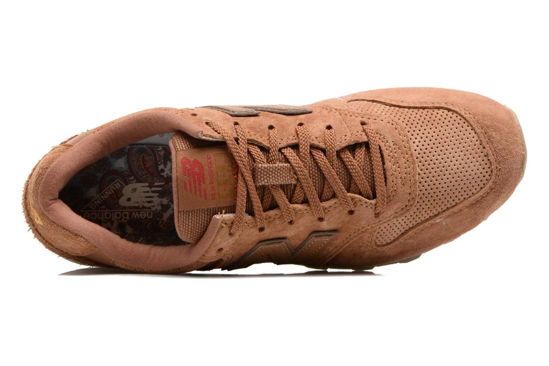 Sneaker New Balance WR996 beige ansicht von links