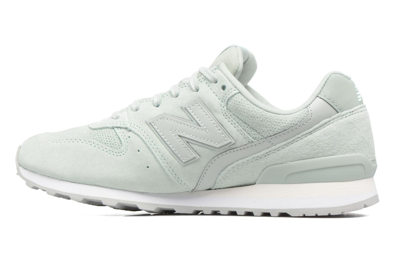 Trainers New Balance WR996 Green front view