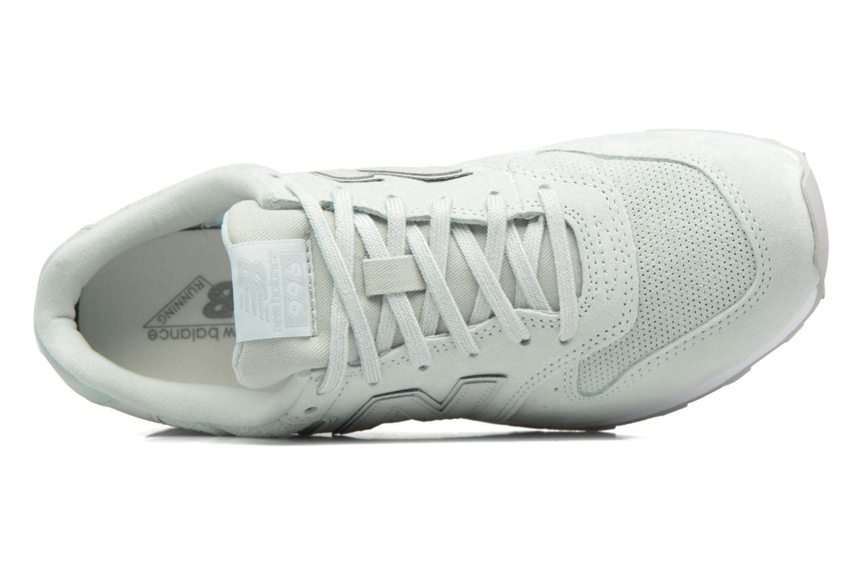 Sneaker New Balance WR996 grün ansicht von links