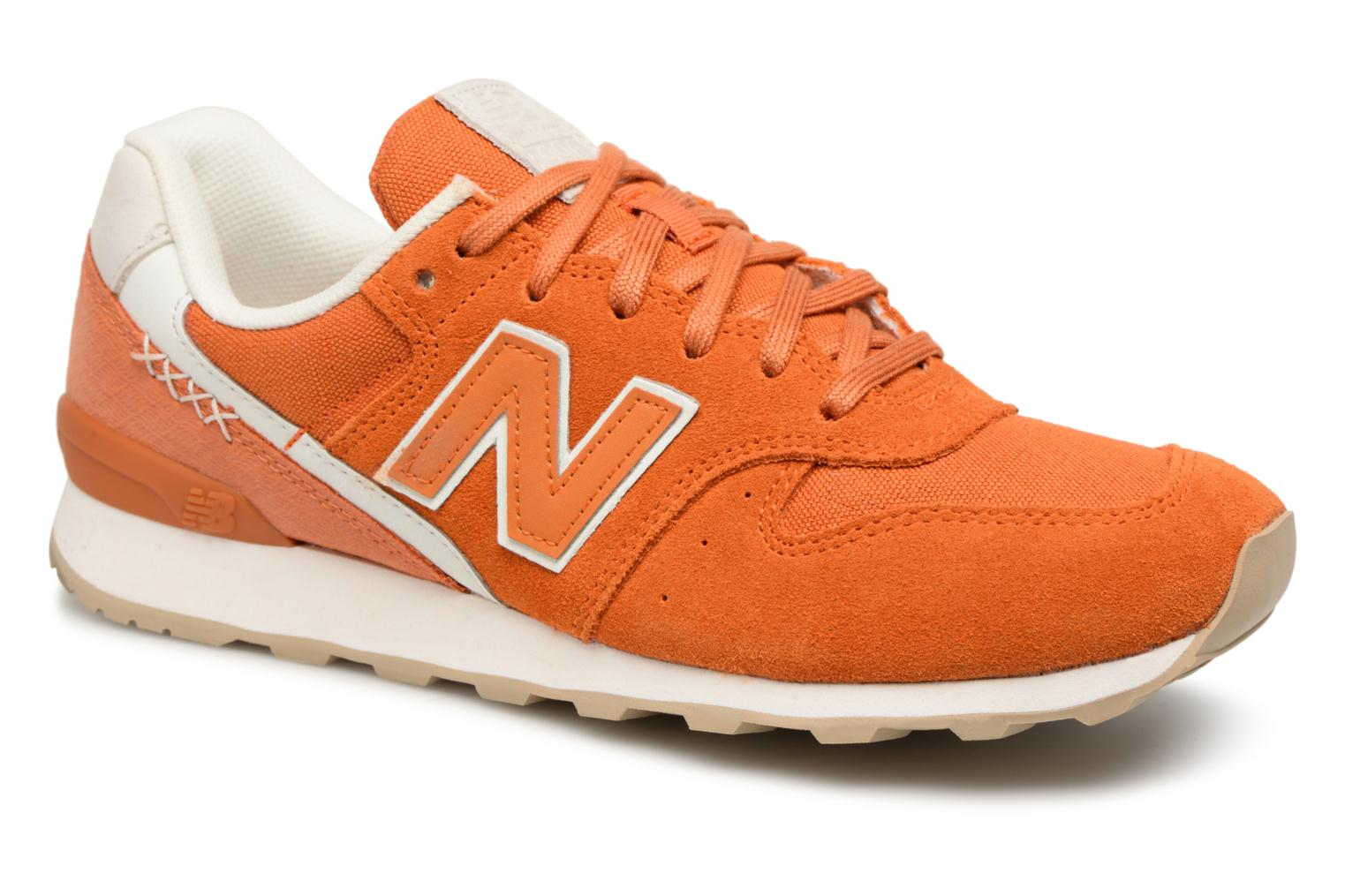 New Balance WR996 (Orange) - Baskets chez Sarenza (325406)