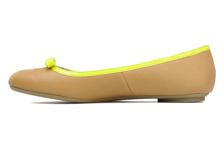 Bailarinas Mellow Yellow Nikute Amarillo vista de frente