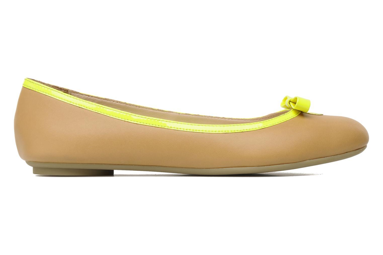 Ballet pumps Mellow Yellow Nikute Yellow back view