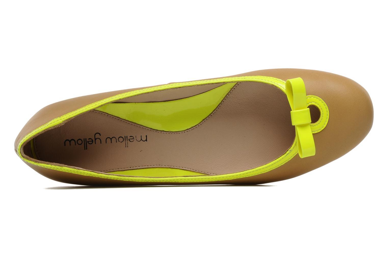 Ballerina's Mellow Yellow Nikute Geel links