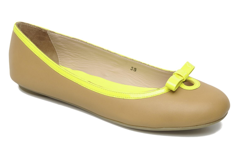 Ballerinaer Mellow Yellow Nikute Gul detaljeret billede af skoene