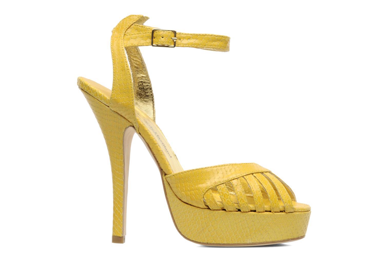 Sandals Terry de Havilland MARGUERITE Yellow back view