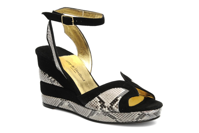 Sandali e scarpe aperte Terry de Havilland SIMA 4 TIER Nero vedi dettaglio/paio