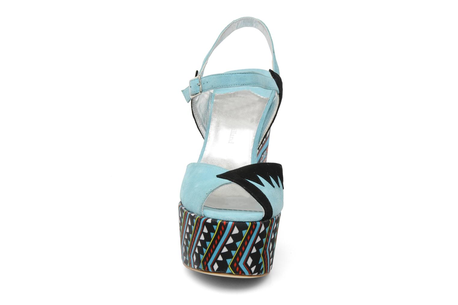 Sandals Terry de Havilland TOTEM Blue model view