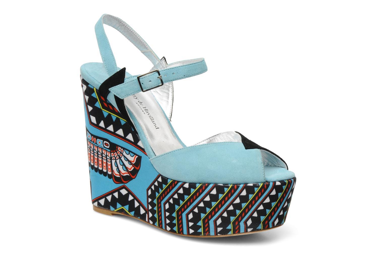 Zapatos promocionales Terry de Havilland TOTEM (Azul) - Sandalias   Venta de liquidación de temporada