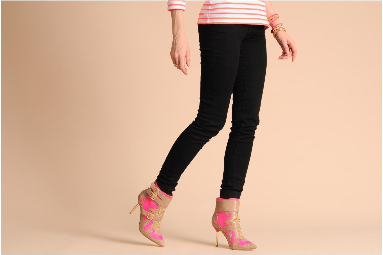 Stiefeletten & Boots KG By Kurt Geiger Wyatt rosa ansicht von unten / tasche getragen