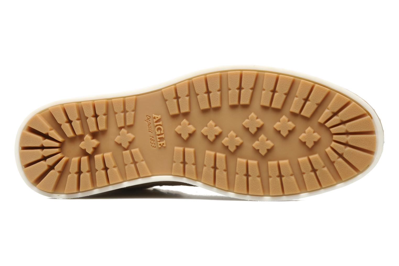 Chaussures à lacets Aigle Kitangiri Mid W Beige vue haut
