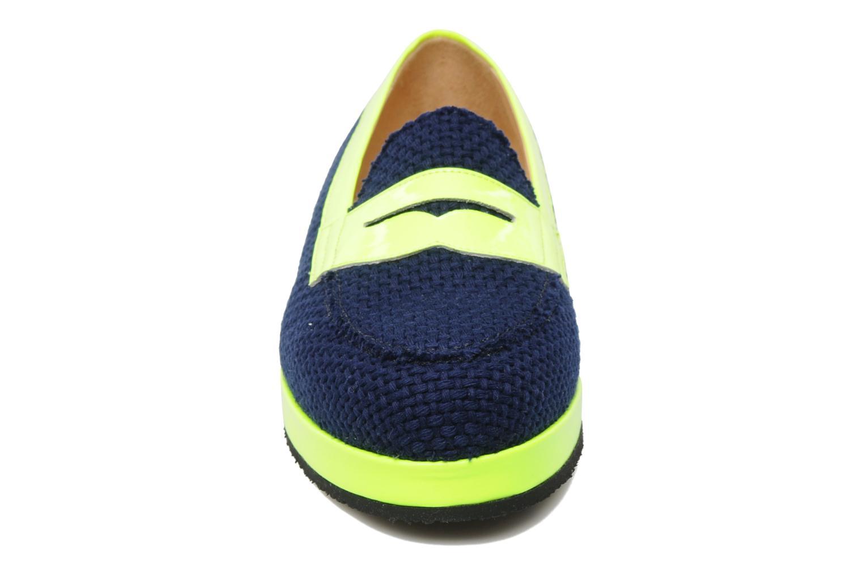 Mocassins MySuelly Valentine Bleu vue portées chaussures