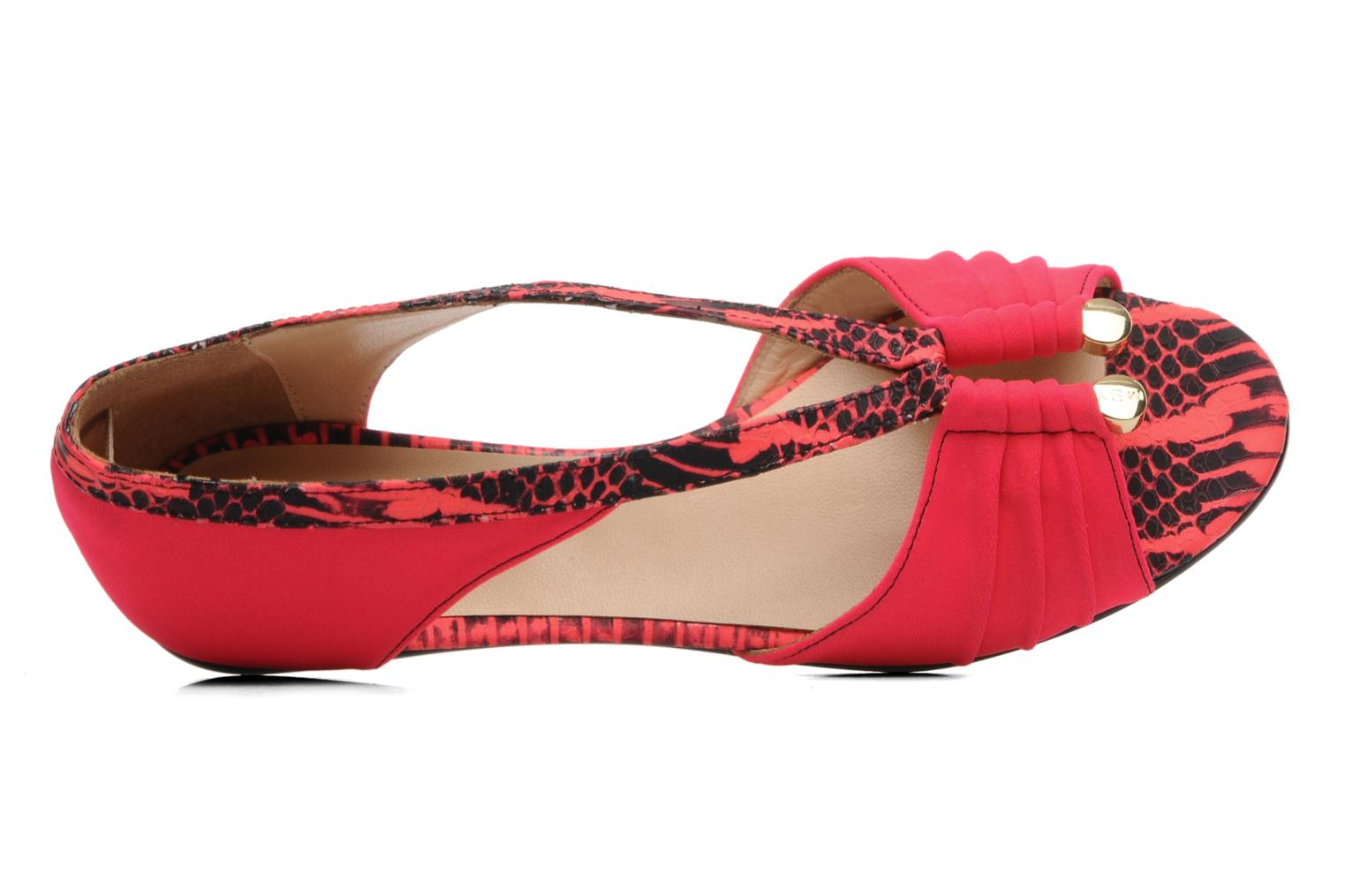 Sandals MySuelly Romane Pink view from the left
