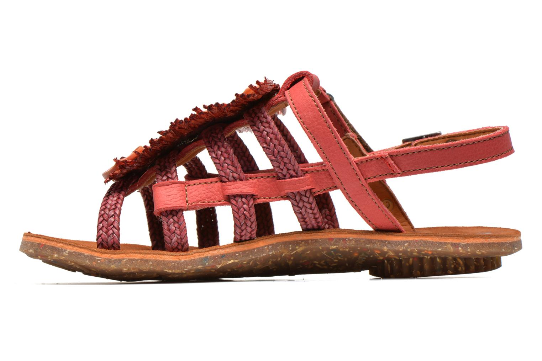 Sandales et nu-pieds Art Zurich 036 Rouge vue face