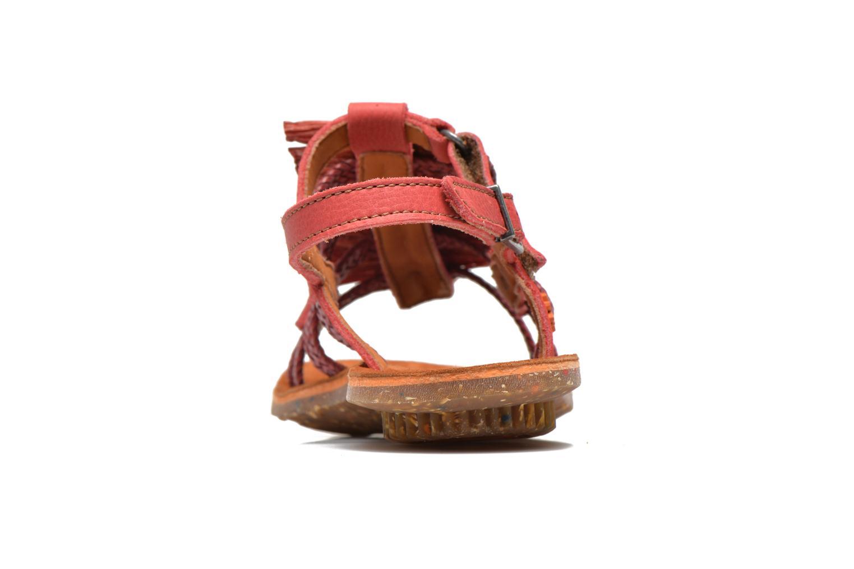 Sandales et nu-pieds Art Zurich 036 Rouge vue droite