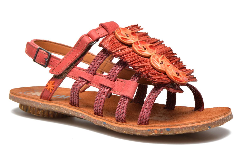 Sandales et nu-pieds Art Zurich 036 Rouge vue détail/paire