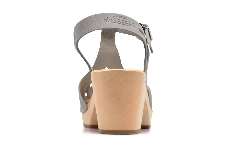 Sandales et nu-pieds Swedish Hasbeens Lacy Sandal Gris vue droite